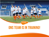 Ons team is in training!
